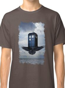 Police Call Box Flying with the Bird iPhone 6 Case Classic T-Shirt