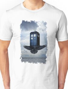 Police Call Box Flying with the Bird iPhone 6 Case Unisex T-Shirt