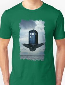 Police Call Box Flying with the Bird iPhone 6 Case T-Shirt