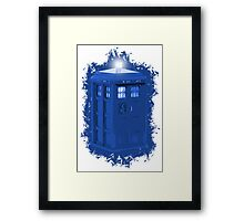 blue Box iPhone 6 plus case Framed Print