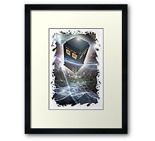 time lord blue box iPhone 6 plus cases Framed Print