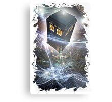 time lord blue box iPhone 6 plus cases Metal Print