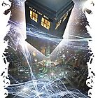 time lord blue box iPhone 6 plus cases by DarrellHo
