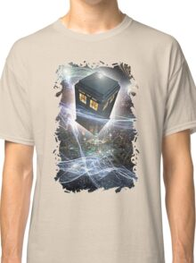 time lord blue box iPhone 6 plus cases Classic T-Shirt