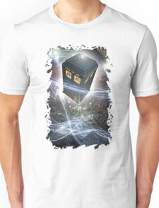 time lord blue box iPhone 6 plus cases Unisex T-Shirt