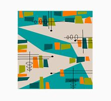 Mid-Century Modern Abstract Space Age Unisex T-Shirt
