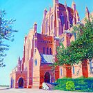 Bathed in Sunlight, Christ Church Cathedral, Newcastle by carolelliott7