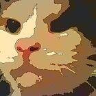 Cat Face by jabberwocky