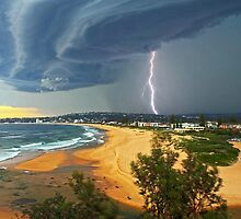 North Narrabeen Beach NSW by Doug Cliff