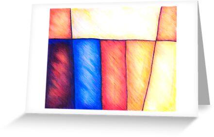 Color Block, Mixed Media by Danielle Scott