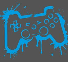 Playstation Controller (Splatter) by WondraBox