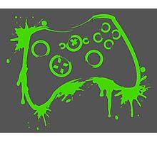 Xbox 360 Controller (Splatter) Photographic Print