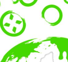 Xbox Controller (Splatter) Sticker