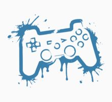 Playstation Controller (Splatter) Kids Clothes