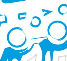 Playstation Controller (Splatter) Sticker
