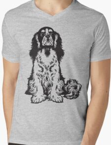 Dog Mens V-Neck T-Shirt