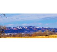 panoramic mountians Photographic Print