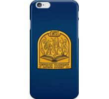 Fire Department 451 iPhone Case/Skin