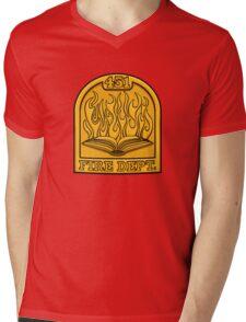 Fire Department 451 Mens V-Neck T-Shirt