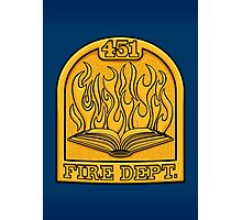 Fire Department 451 Photographic Print