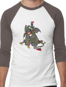 Light Fury Men's Baseball ¾ T-Shirt