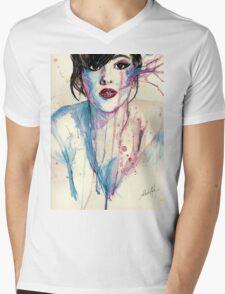 Natasha  Mens V-Neck T-Shirt