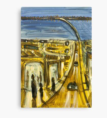 Driving home Canvas Print