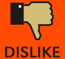 Dislike (Thumb Down) Kids Tee