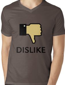 Dislike (Thumb Down) Mens V-Neck T-Shirt