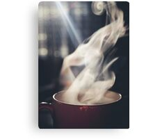 Warm Tea Canvas Print