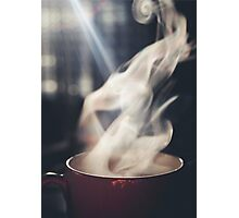 Warm Tea Photographic Print