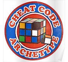 Cheat Code Archetype Poster