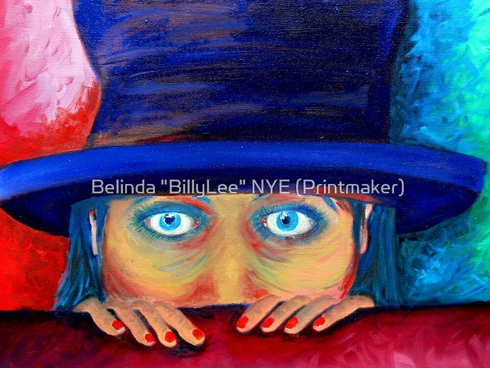 """""""Anxiety"""" by Belinda """"BillyLee"""" NYE (Printmaker)"""