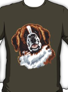 saint bernard head T-Shirt