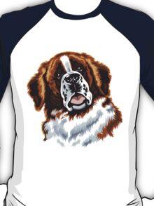 saint bernard head T-Shirt
