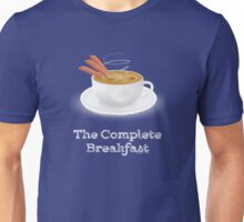 Bacon and Coffee: the Complete Breakfast (dark) Unisex T-Shirt