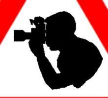 Photographer at Work Sticker