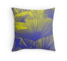 Frond : Photography by Alys Griffiths Throw Pillow