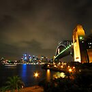 Sydney Harbour Bridge &amp; Opera House by Bill Fonseca