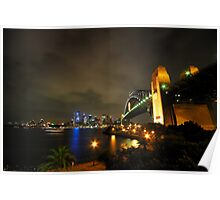 Sydney Harbour Bridge & Opera House Poster