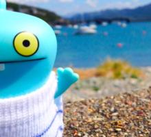 Babo's seaside vacation Sticker