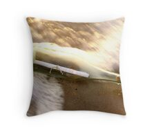 message in a bottle - 1 Throw Pillow