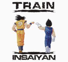 Train insaiyan - Goku and Vegeta by BeastStudios