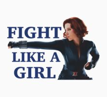 Fight Like a Girl Kids Clothes