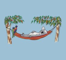 Hammock Sleeping Koala Kids Clothes