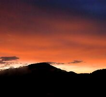 East Tennessee Mountain Sunset by xPressiveImages