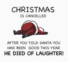 Christmas is Cancelled! by FIRE DRAKE productions.