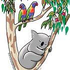 Sleeping Koala by JumpingKangaroo