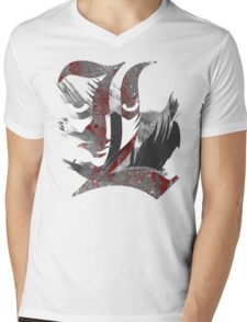 L is the Law Mens V-Neck T-Shirt