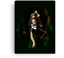 Carroll did this to me Canvas Print